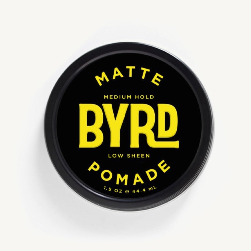 matte pomade for medium hold low sheen