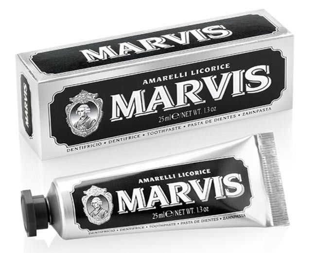 Marvis Toothpaste Amarelli Licorice - Travel Size