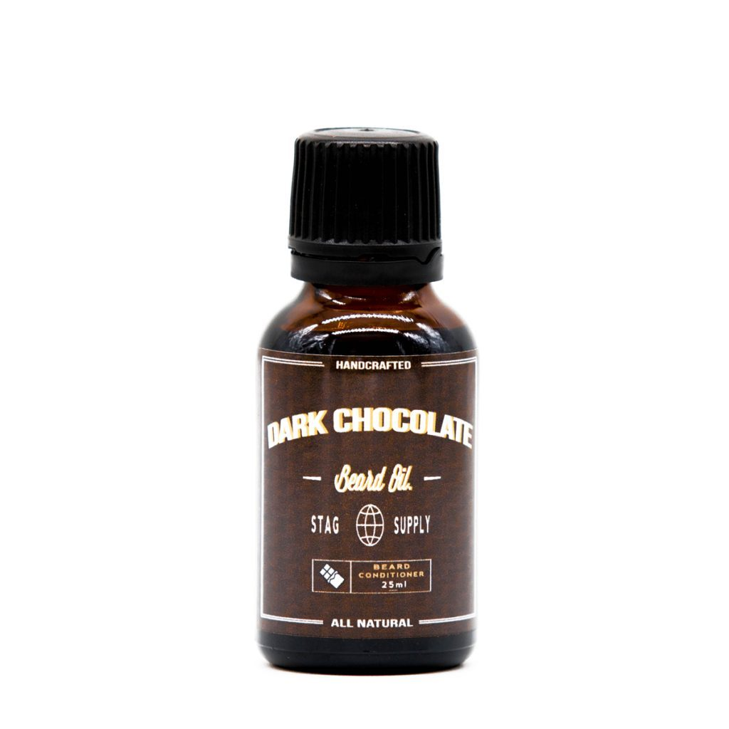 chocolate scented beard oil