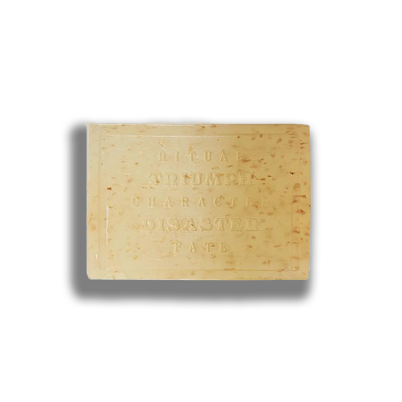 almond milk and rosehip oil soap for men