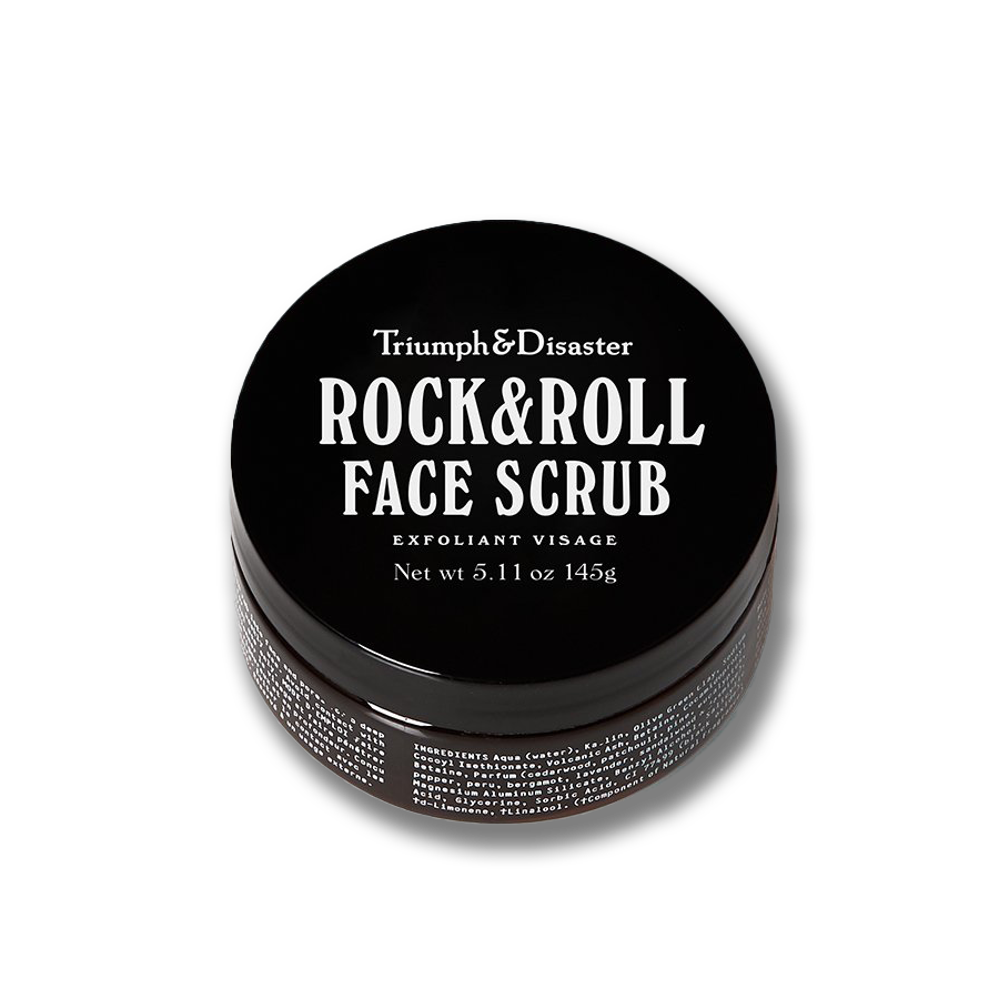 rock and roll face scrub triumph and disaster