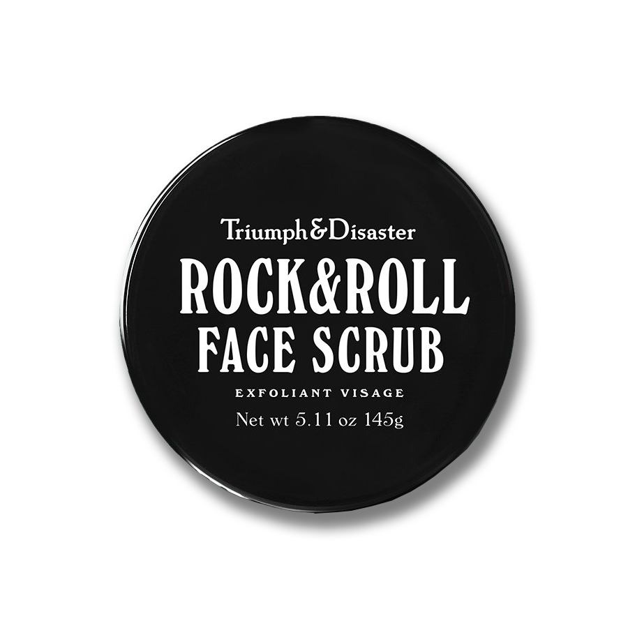 triumph and disaster exfoliant face scrub