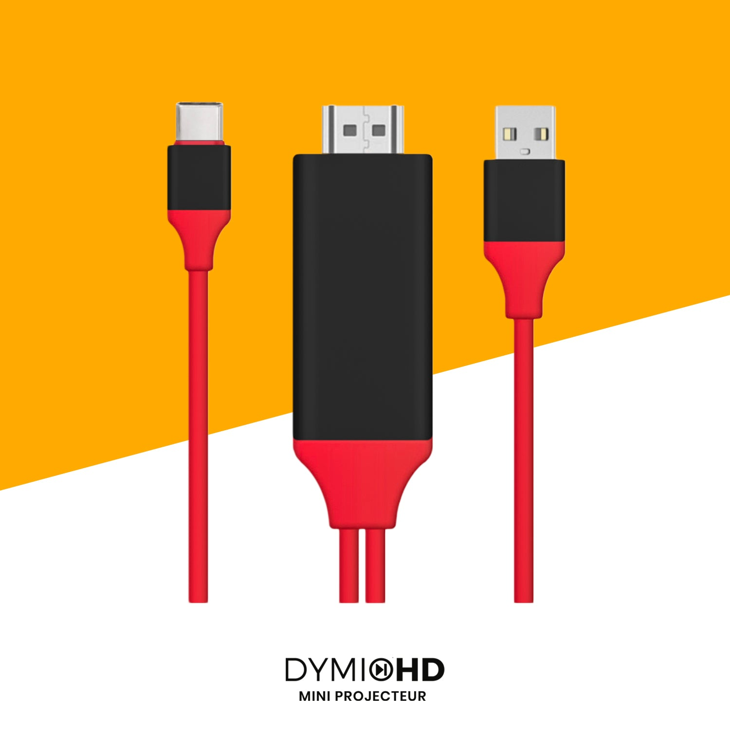 adaptateur apple iPhone HDMI DymioHD