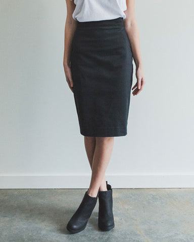 Perfect Fit Pencil Skirt - Black