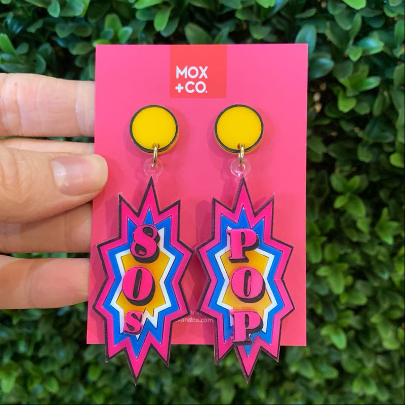 MOX & Co | 80s POP Earrings