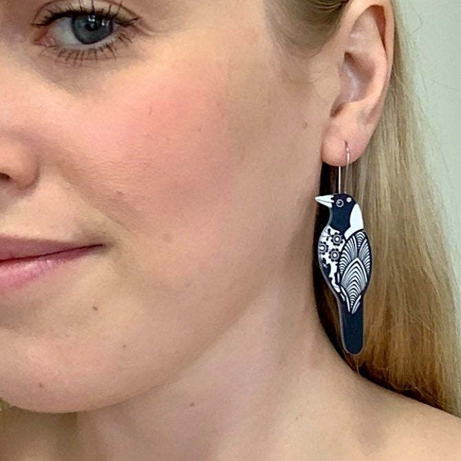 Smyle Designs | Magpie Earrings