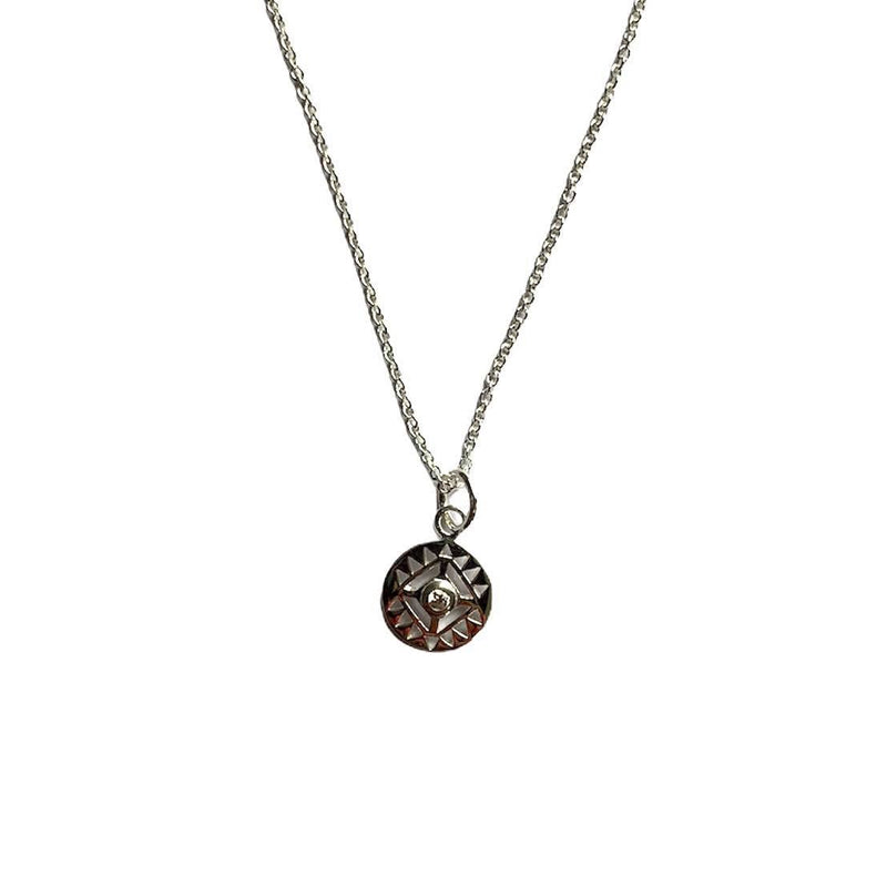 TID | sterling silver bling necklace