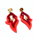 Bobbi Frances Earrings | Flame