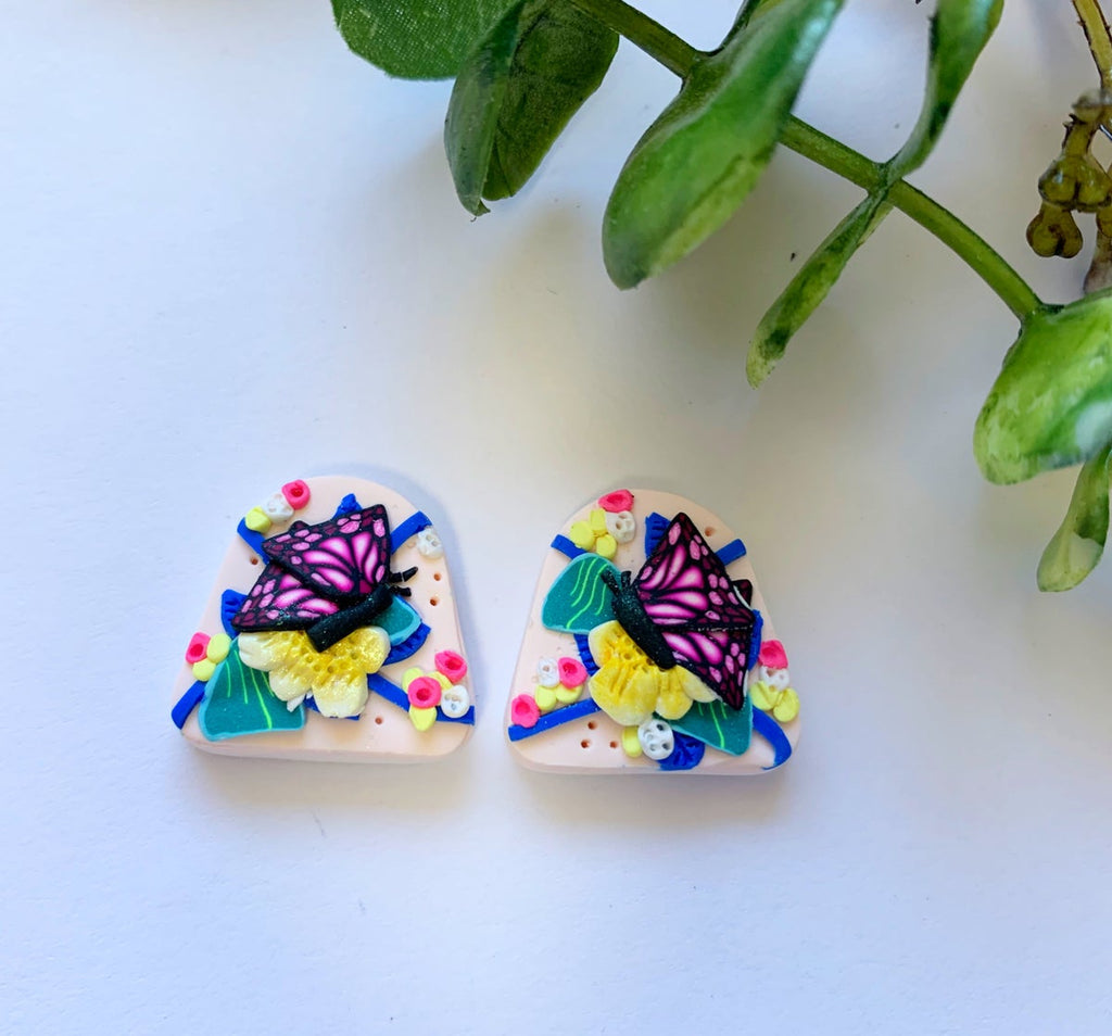 Gracefully Made | Tropical Vibes Arch Studs