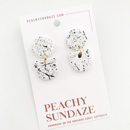 Peachy Sundaze Adeline - gold and white