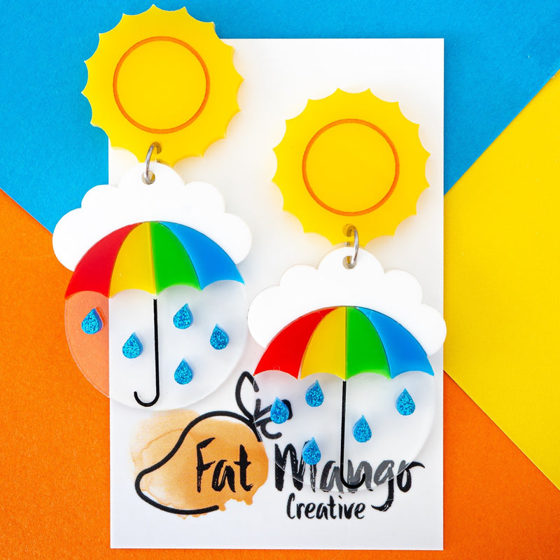 Fat Mango | Come Rain or Shine Dangles