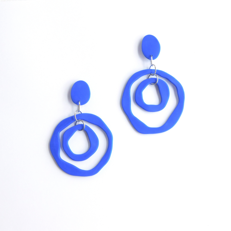 Bamba Bamba | Antonia Mini Earrings Blue