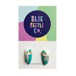 Blue Beetle Co budgies
