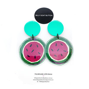 Billy Goat Button - Watermelon Drops