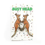 Busy Head Roo Earrings