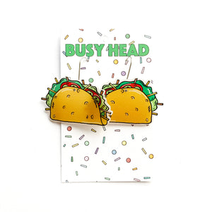 Busy Head Taco Dangles