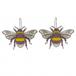 Busy Head Bee Earrings