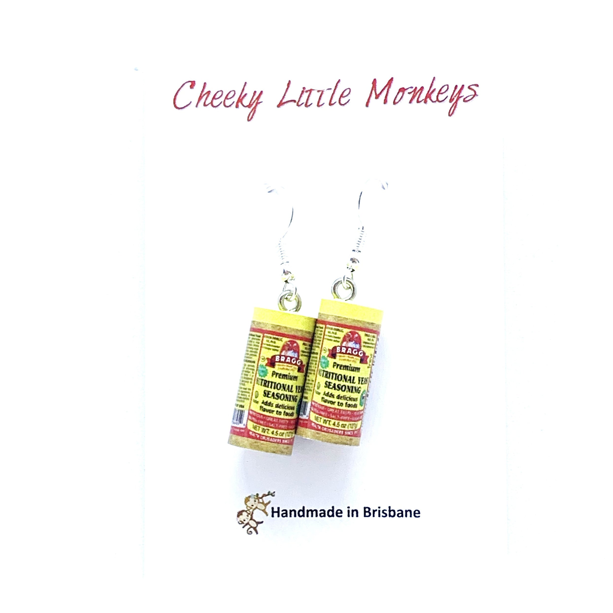 Cheeky Little Monkeys - Seasoning Earrings