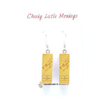 Cheeky Little Monkeys - Veuve Clicquot Earrings