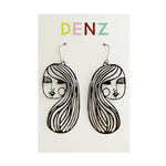 DENZ Jane dangles | Black