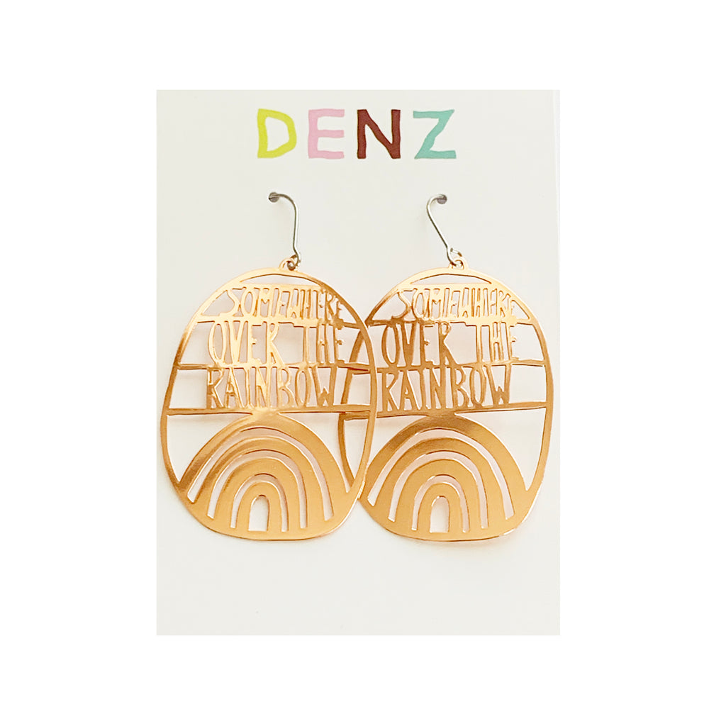 DENZ Somewhere over the rainbow dangles | Rose