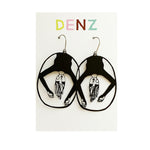 DENZ Upside down dangles | Black