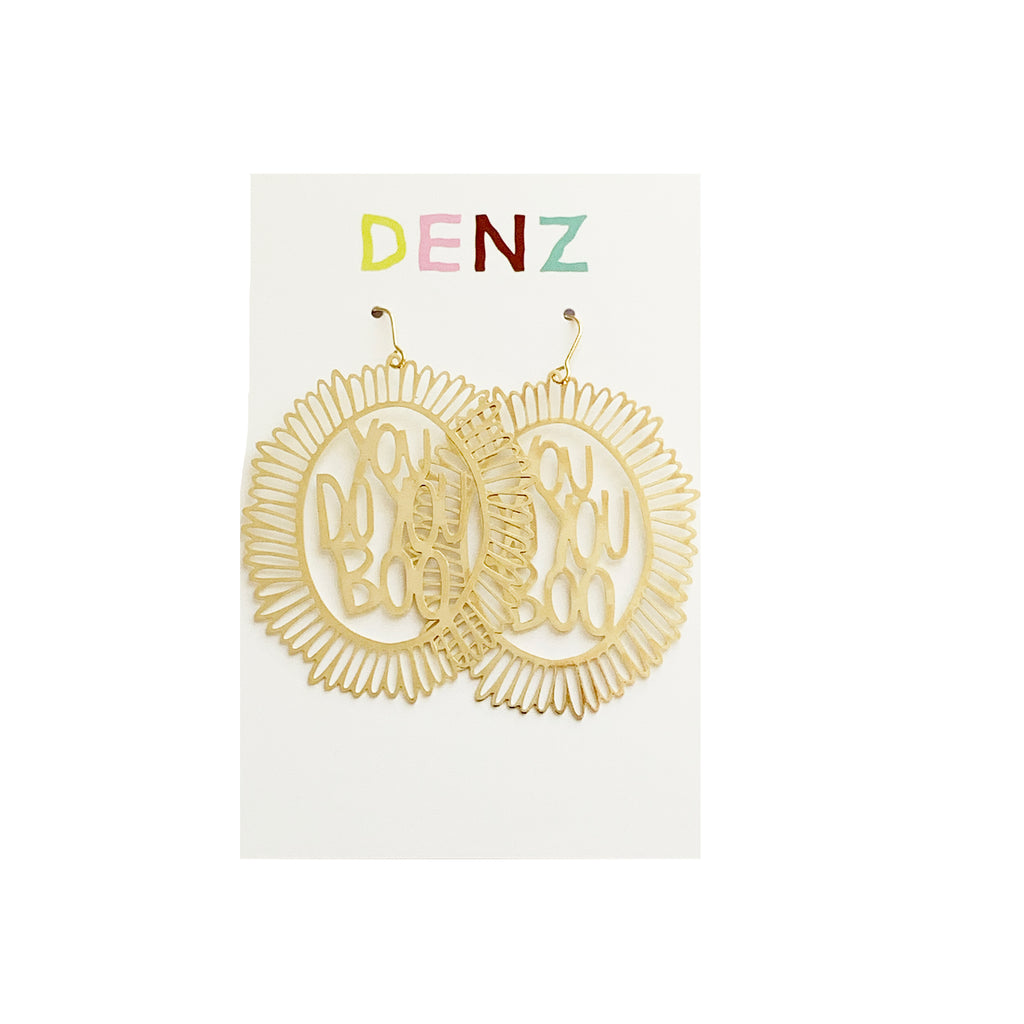 DENZ You do you boo dangles | gold