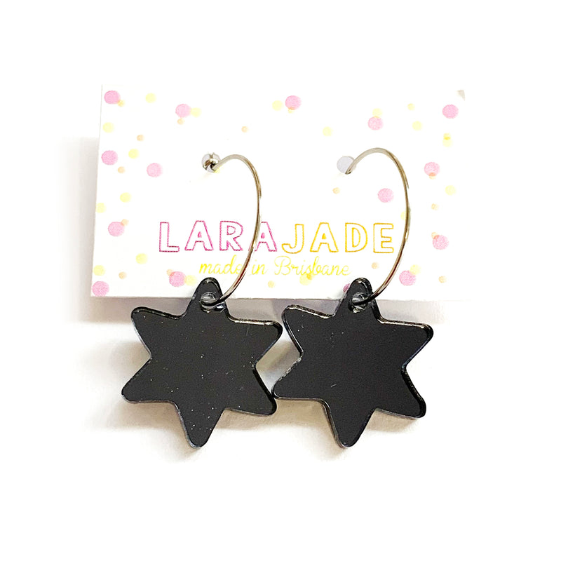 Lara Jade | Black Mirror Hoops