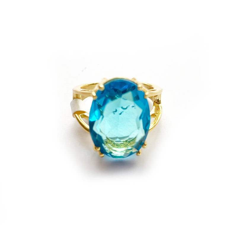 Zoda | Faceted Glass Ring