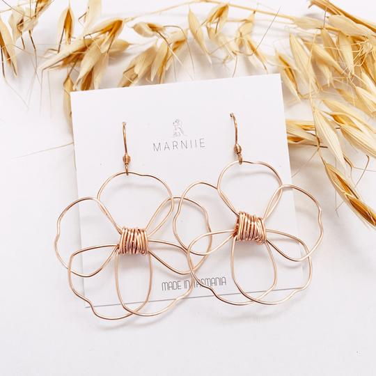 MARNIIE Daisy Pair dangles | Rose Gold