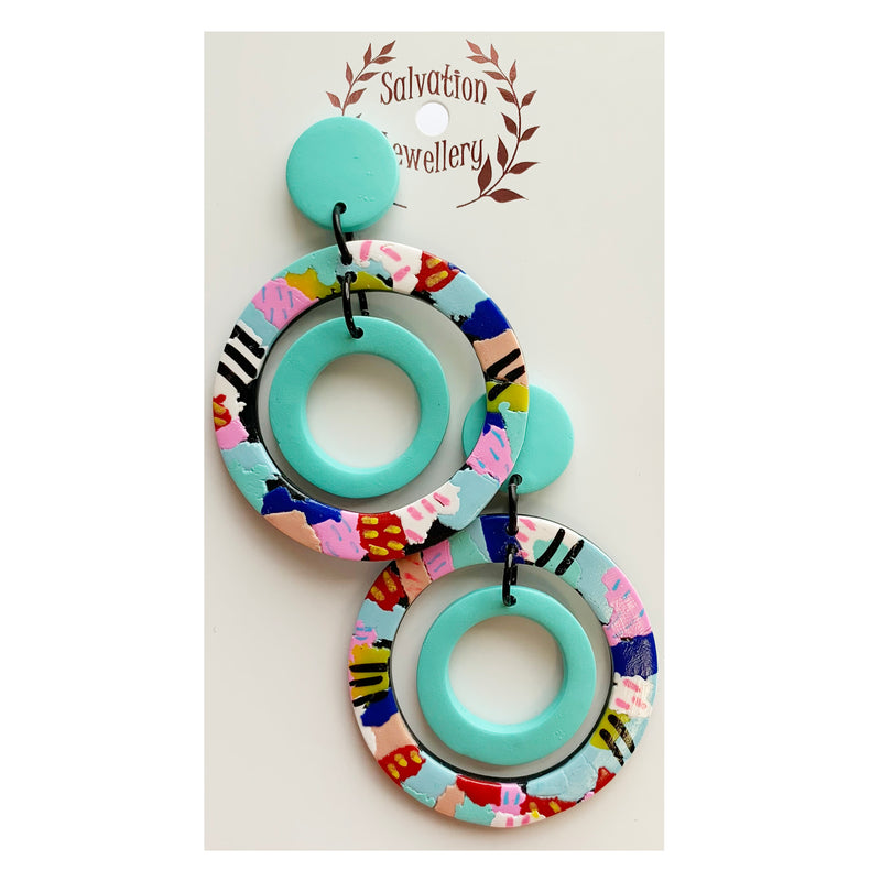 Salvation  | Multi Coloured Hoops