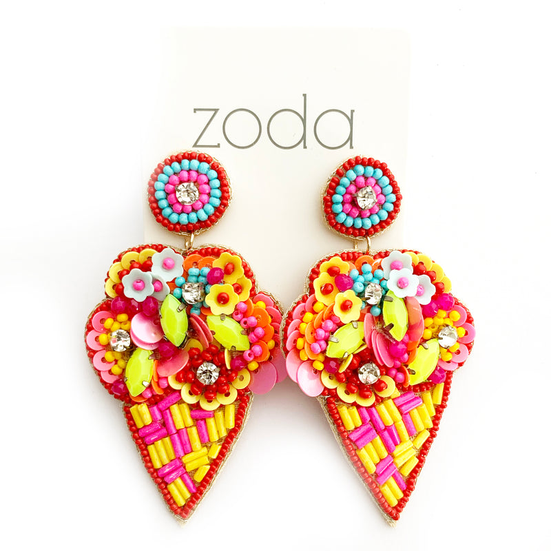 Zoda | Beaded Bouquet Drops