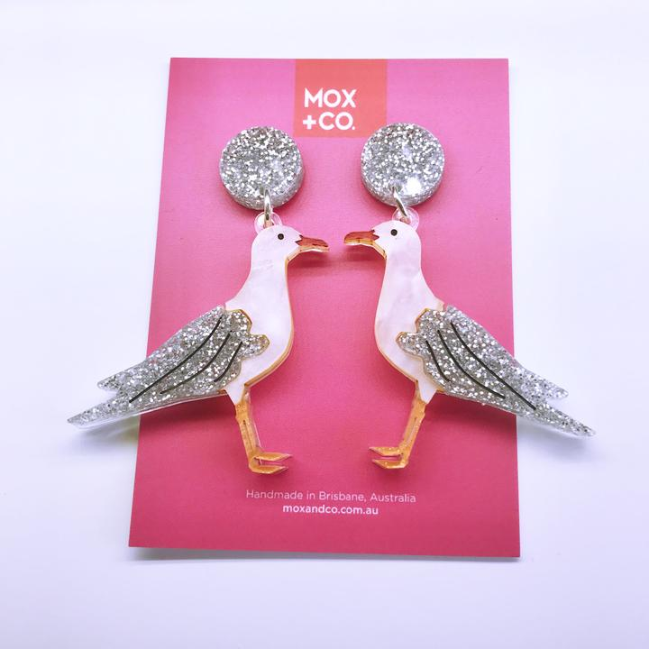 MOX & Co Seagulls dangles