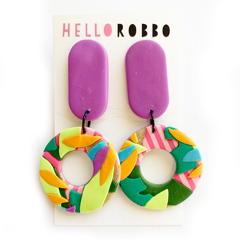 Hello Robbo | Tropical Earrings