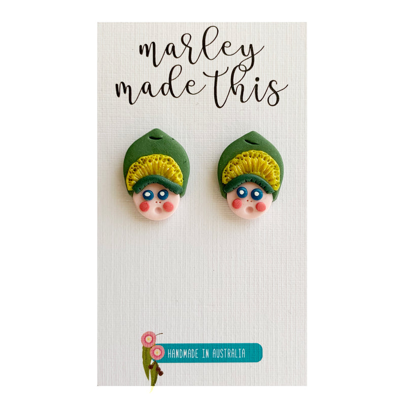 Marley Made This | Gumnut Babies Studs
