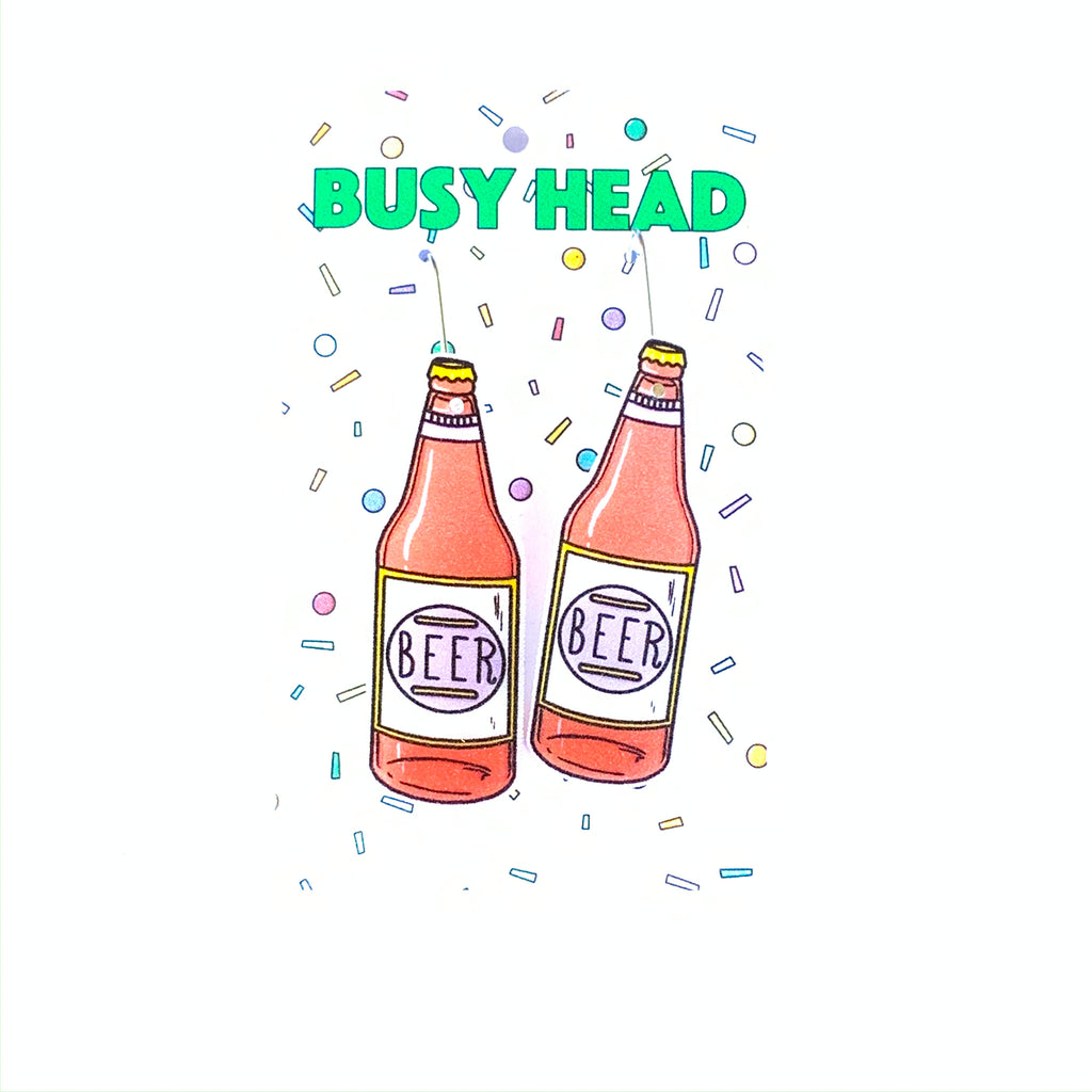 Busy Head Beer Bottles