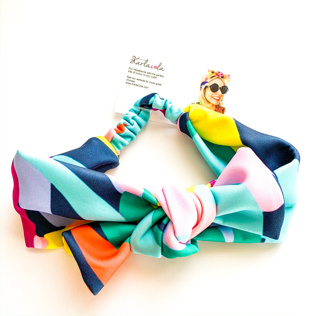 KarlaCola | What the Bloom Bow headband | Multi