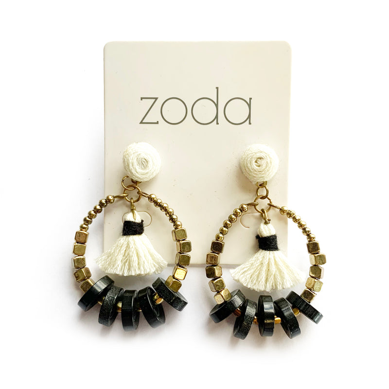 Zoda Abstract Drops | Gold and Black