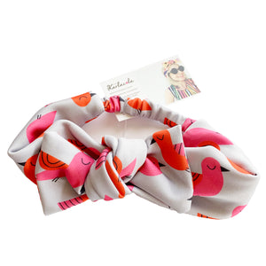 KarlaCola | You're so Tweet Bow headband | Grey