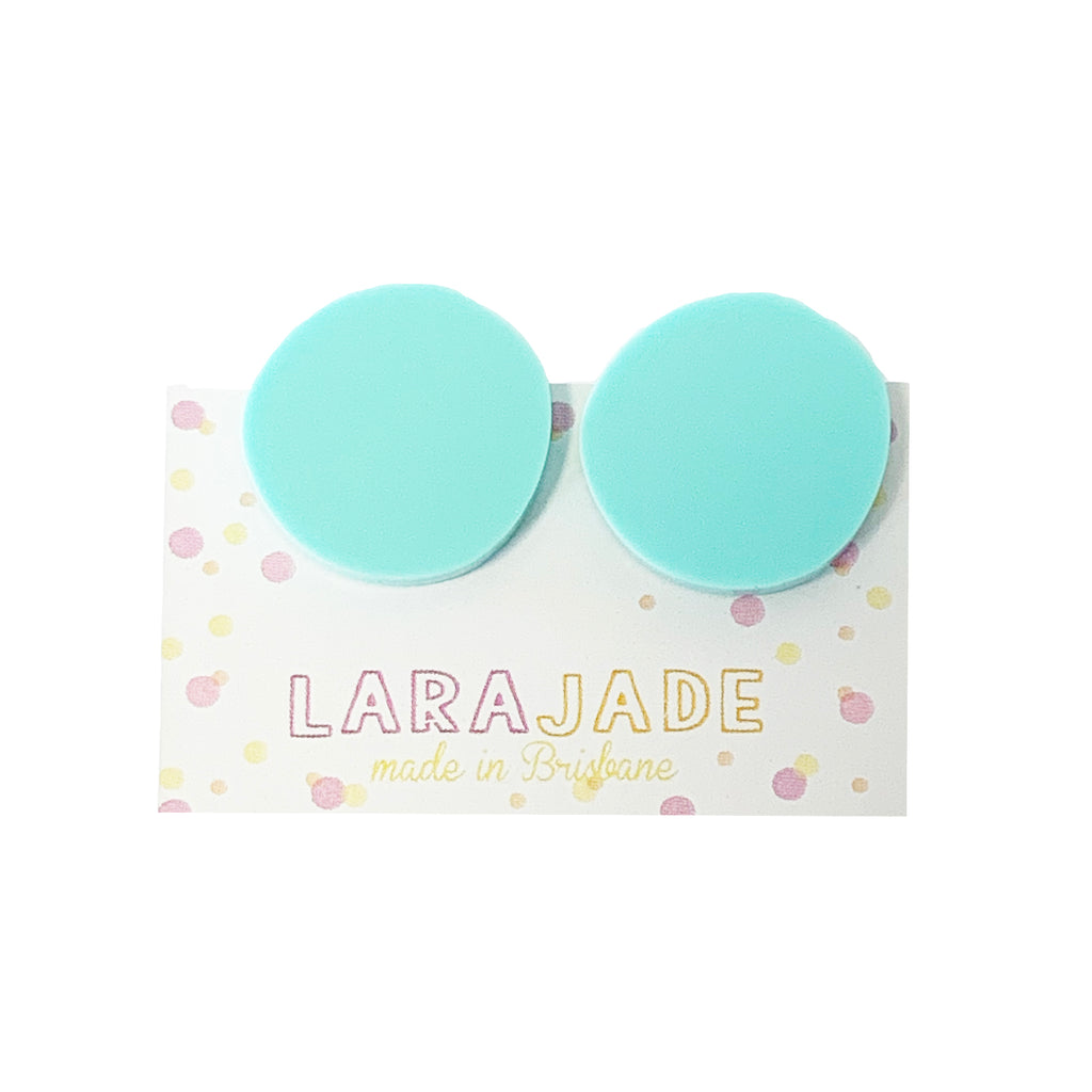 CLIP ON | Lara Jade rounds | Mint