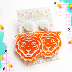 Lara Jade Tigers | Orange and clear