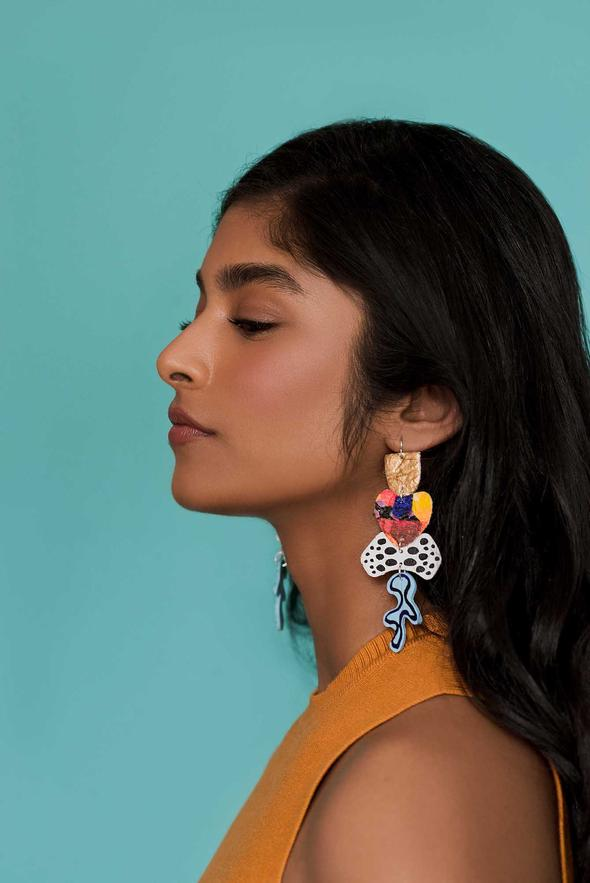 Mazdevallia - Nanaimo Statement Earrings