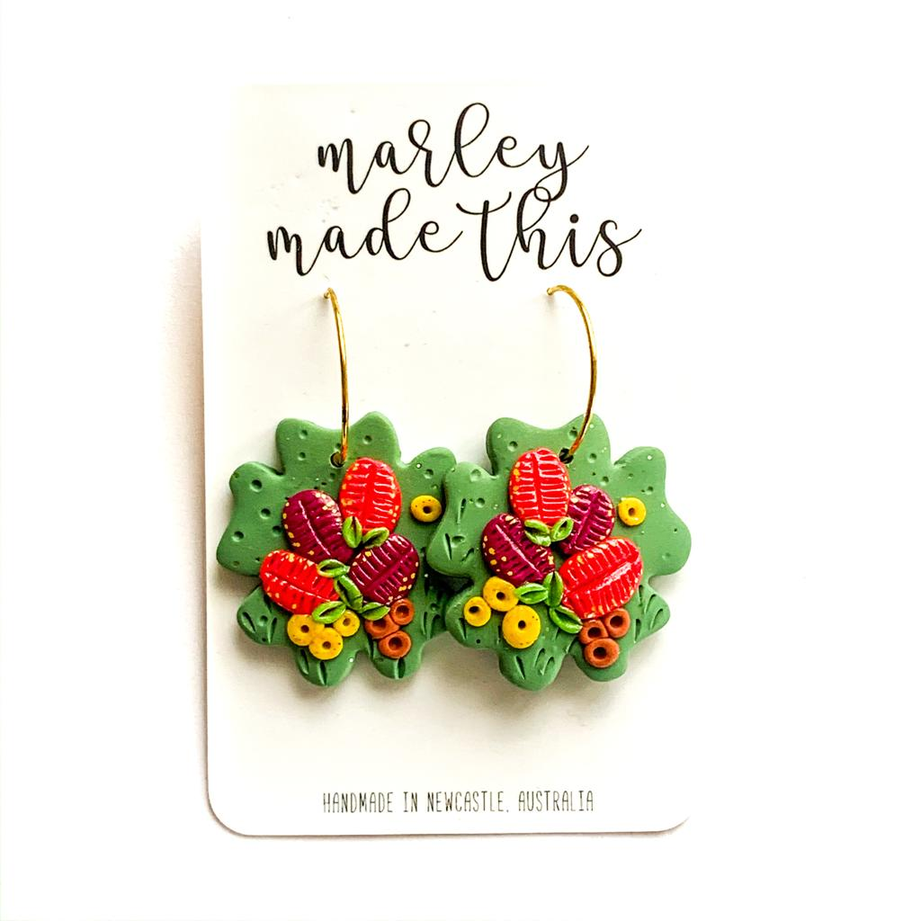 Marley Made This | Bottlebrush hoops