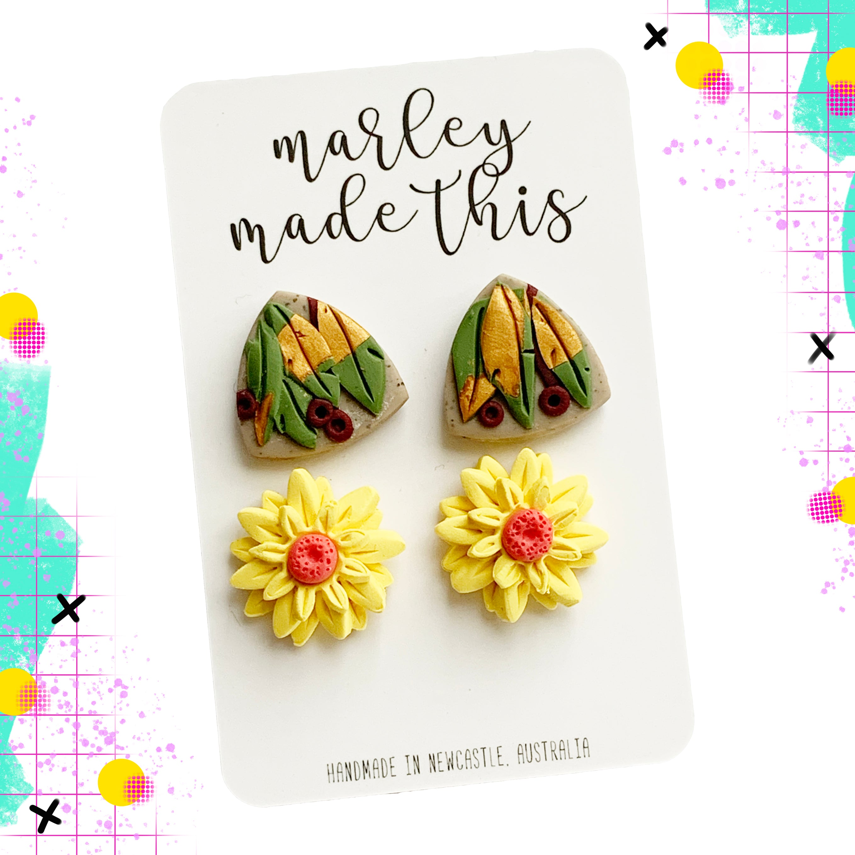 Marley Made This | Native studs duo pack