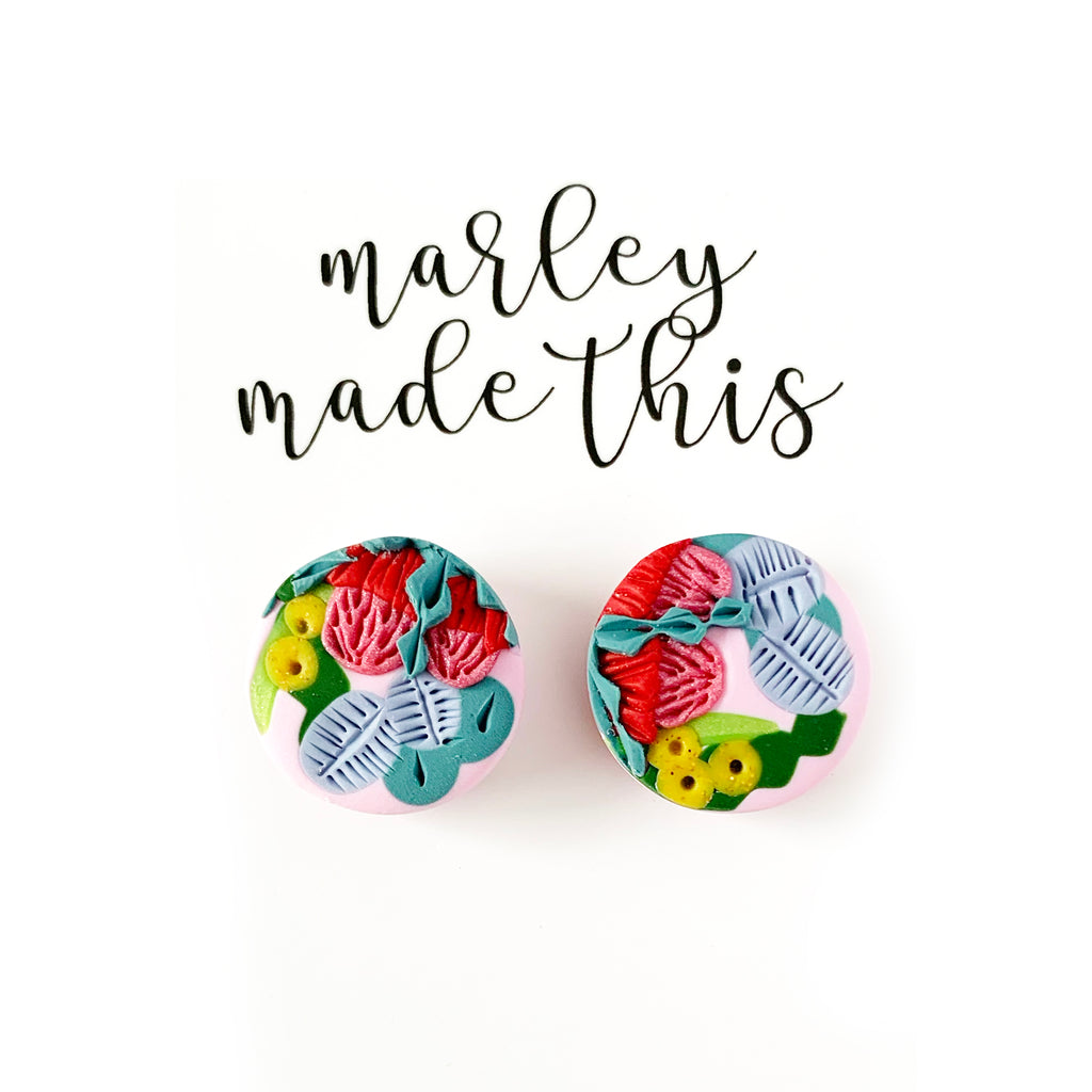 Marley Made This | Australian Native bouquet studs