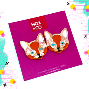 MOX & Co Cat studs | Ginger