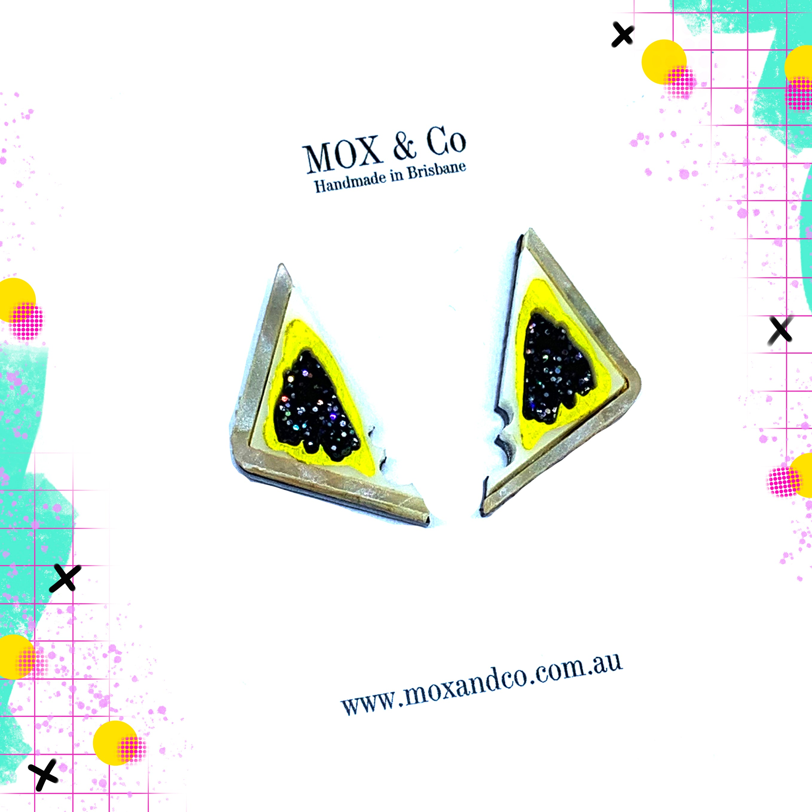 MOX & Co Vegemite on toast studs