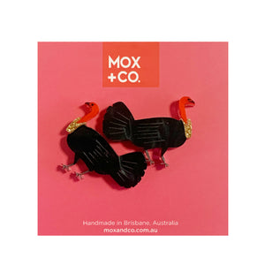 MOX & Co Bush Turkey studs