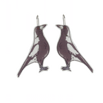Busy Head Magpie Earrings