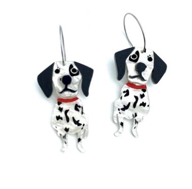 Bobbi Frances | Dalmatian Hoops